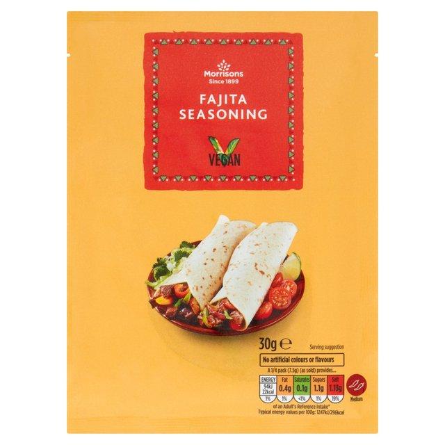 Morrisons Fajita Seasoning