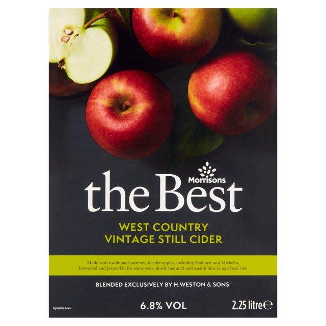 Morrisons The Best Vintage Still Cider