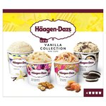 Haagen - Dazs Vanilla Collection Mini Cups