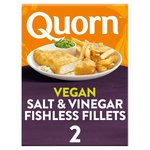Quorn Vegan Battered Fishless Fillets 2 Pack