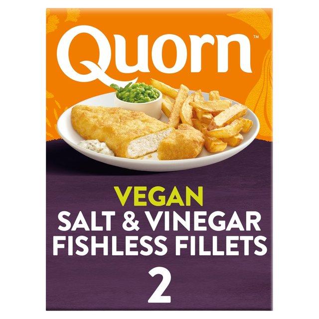 Quorn Vegan Battered Fishless Fillets 2 Pack