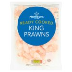 Morrisons Peeled & Cooked King Prawns