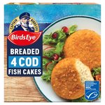 Birds Eye Cod Fish Cakes 4 Pack