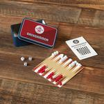 Fathers Day Backgammon Tin Game