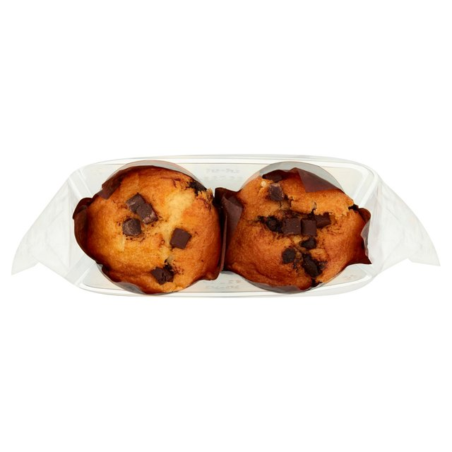 The English Cake Company Chocolate Chip Muffins