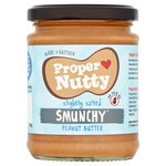 Proper Nutty Peanut Butter Slightly Salted