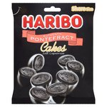 Haribo Authentic Pontefract Cakes Soft Liquorice Bag