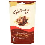 Galaxy Chocolate Creme Wafer Curls