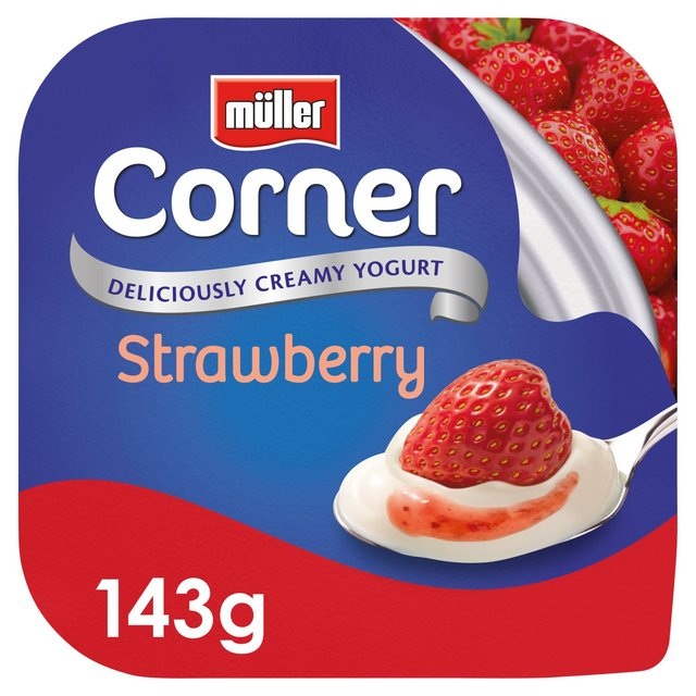 Muller Corner Strawberry Yogurt