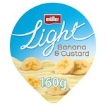 Muller Light Banana & Custard Yogurt