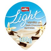 Muller Light Vanilla & Chocolate Yogurt