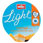 Muller Light Orange With Dark Chocolate Sprinkles Yogurt