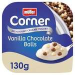 Muller Corner Vanilla Chocoball Yogurt