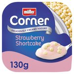 Muller Corner Strawberry Shortcake Yogurt