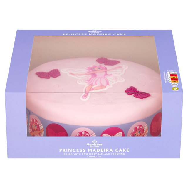 Surprising Morrisons Princess Celebration Cake Morrisons Funny Birthday Cards Online Hetedamsfinfo