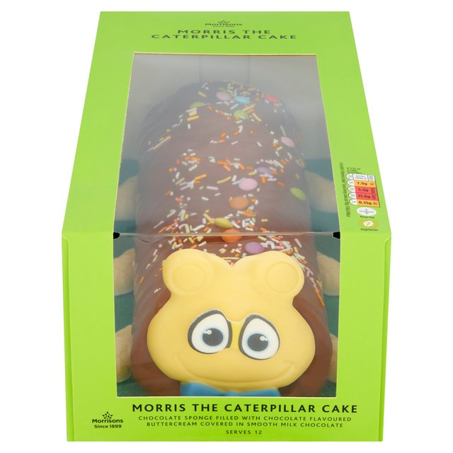 Morrisons Morris The Caterpillar Celebration Cake