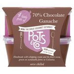 Pots & Co Little Pots Of 70% Chocolate Ganache