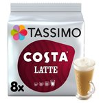 Tassimo Costa Latte 8 Pack