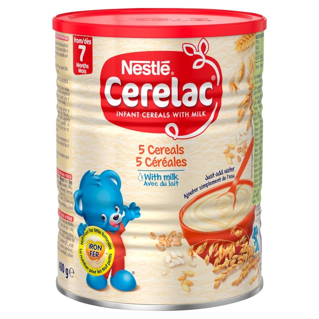 Nestle Cerelac Infant Cereals With Milk