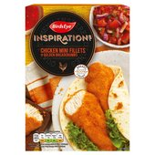 Birds Eye Inspirations Chicken Mini Fillets In Golden Breadcrumbs