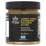 Morrisons The Best Green Halkidiki Olives With Lemon, Garlic & Rosemary