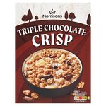 Morrisons Triple Chocolate Clusters