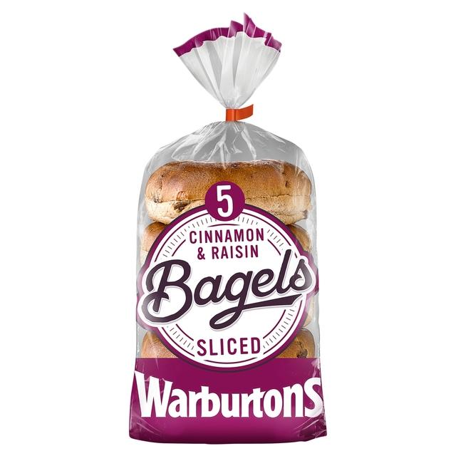 Warburtons Cinnamon & Raisin Bagels