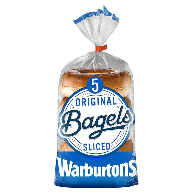 MORRISONS > Bakery > Warburtons Bagels Plain