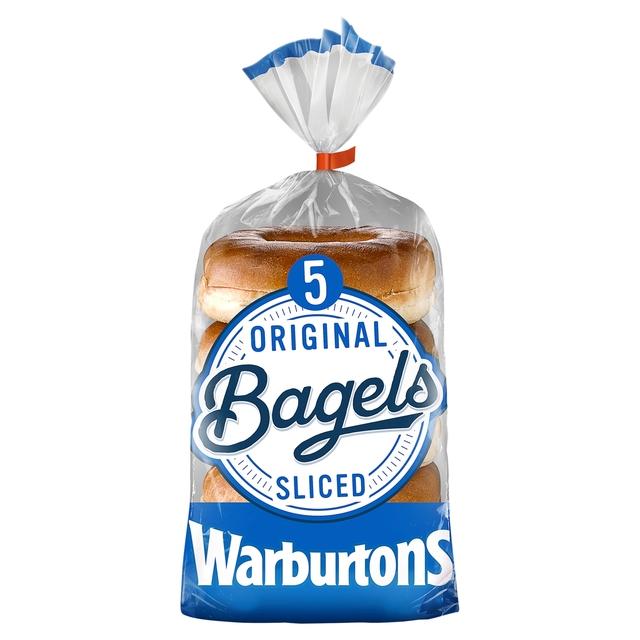MORRISONS > Bakery > Warburtons Plain Bagels