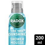 Radox Find Your Sunshine Shower Mousse