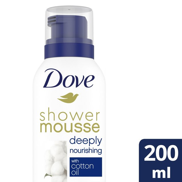 Dove Nourishing Mousse Shower Foam