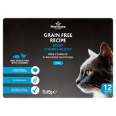 Morrisons Premium Adult Cat Pouch Oceanfish With Chicken In Jelly
