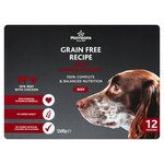 Morrisons Premium Adult Dog Pouch Beef With Chicken In Gravy