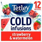 Tetley Cold Infusions Strawberry & Watermelon
