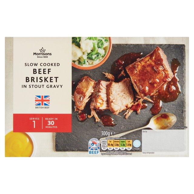 Morrisons Slow Cooked Beef Brisket In Gravy
