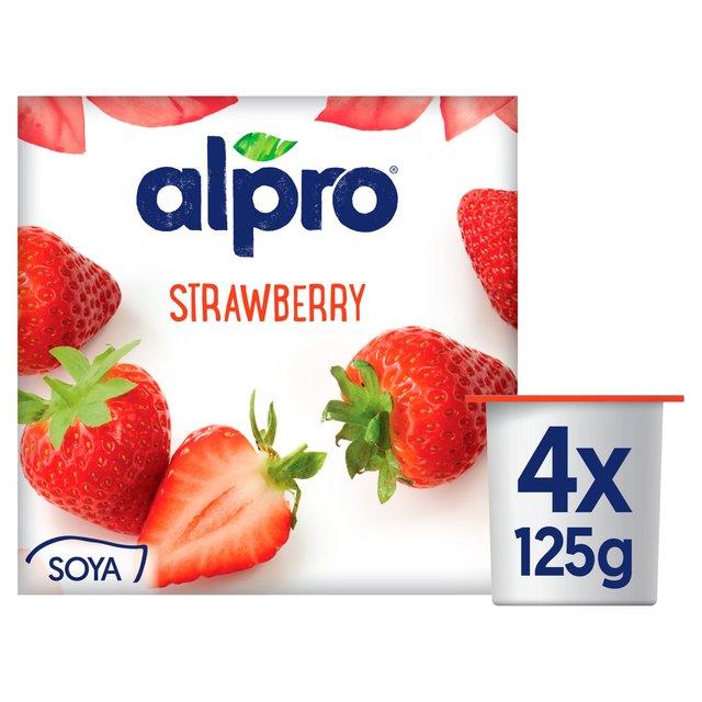 Alpro 4X Strawberry