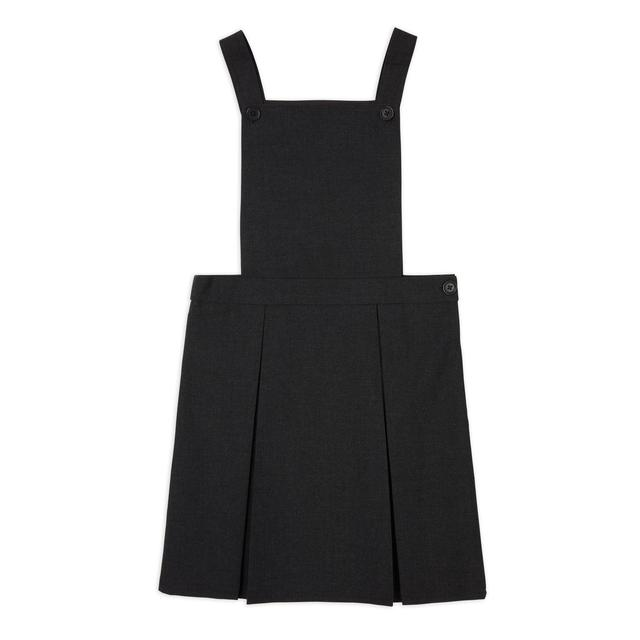Nutmeg Girls Charcoal Pinnafore