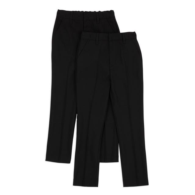 Nutmeg Boys Black Skinny Fit Trousers