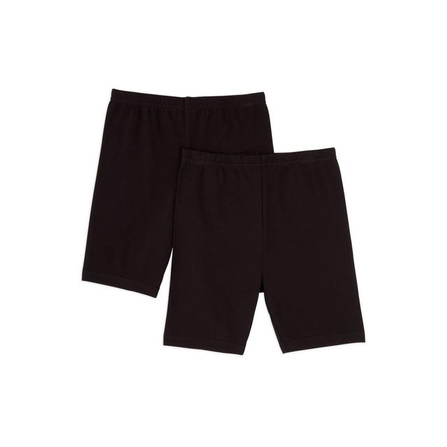 Nutmeg Cycling Shorts 2 Pack 6 - 7 Years