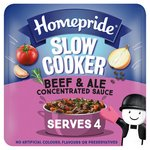 Homepride Slow Cook Beef & Ale Stew