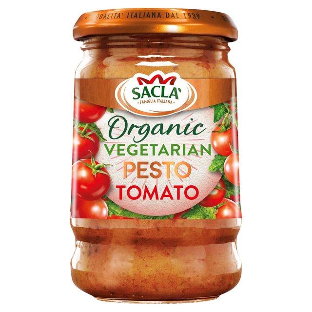 Sacla Organic Vegetarian Pesto No. 6 Tomato