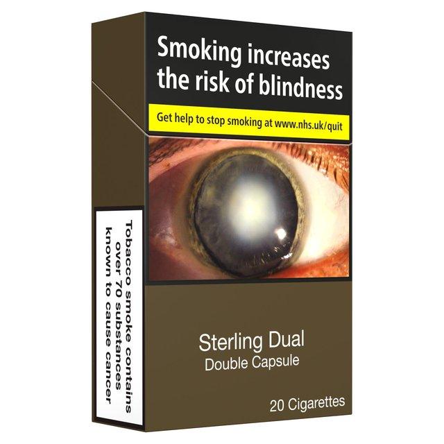 Sterling Dual Double Capsule Cigarettes Morrisons