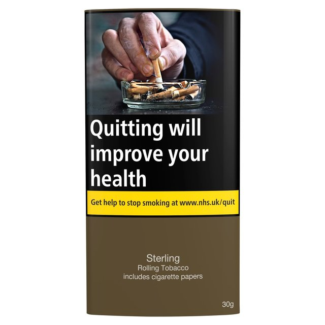 Sterling Rolling Tobacco Includes Cigarette Papers