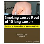 Kensitas Club Superkings Cigarettes