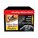 Sheba Select Slices In Gravy Poultry Collection