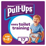 Huggies Pull Ups Day Time Boy 1 - 2.5 Years Potty Training 17 Pants