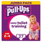 Huggies Pull Ups Day Time Girl 2 - 4 Years Potty Training 27 Pants