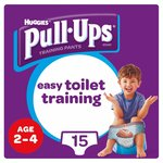 Huggies Pull Ups Day Time Boy 2 - 4 Years Potty Training 15 Pants