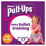 Huggies Pull Ups Day Time Girl 1 - 2.5 Years Potty Training 17 Pants
