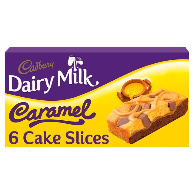 MORRISONS > Bakery > Cadbury Caramel Slices